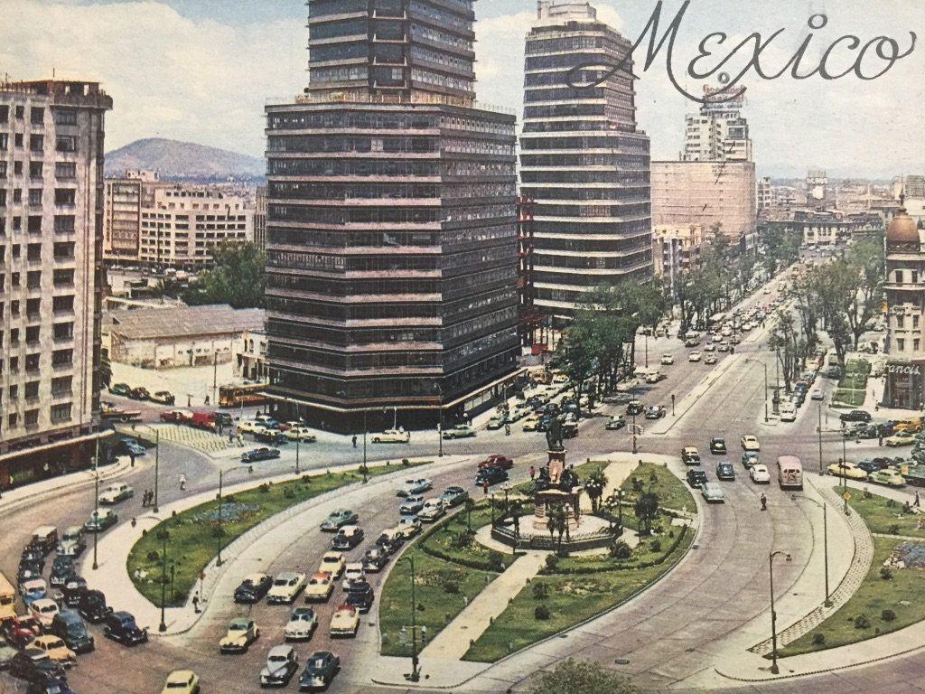 Vintage 1930s 40s Mexico City Travel Picture Book Historic Site