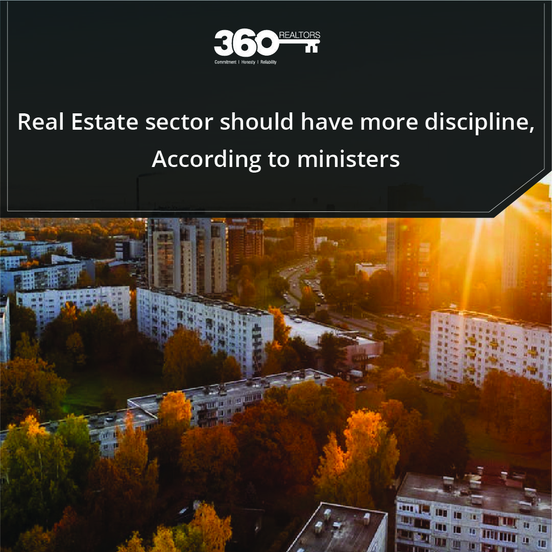 The Housing And Urban Affairs Minister Of Pune Has Emphasised On The Importance Of More Discipline In The Real Estate Sector Urban Affairs Real Estate Estates