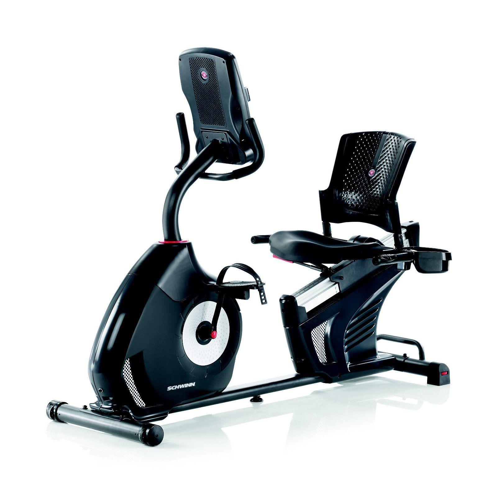 Schwinn 270 Recumbent Exercise Bike From Hayneedle Com Recumbent Bike Workout Exercise Bike Reviews Best Exercise Bike