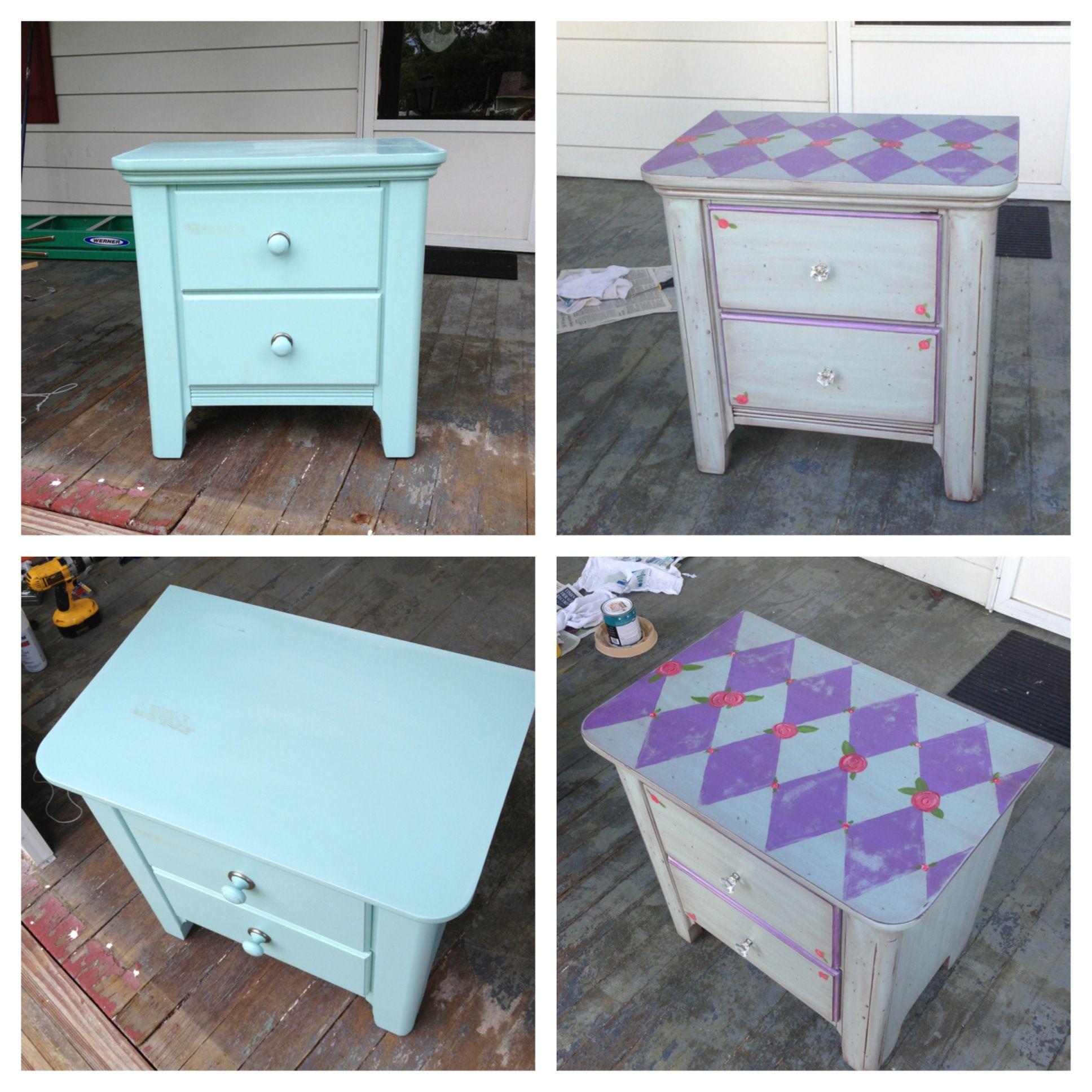 Diy nightstand diy pinterest diy nightstand for Homemade nightstand ideas