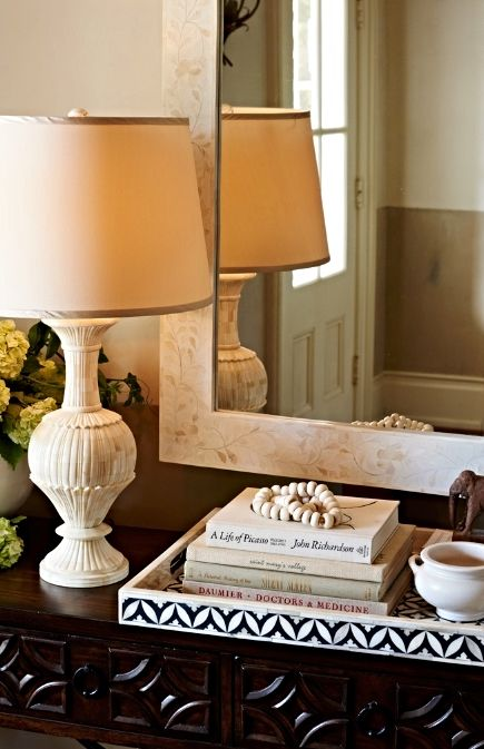 This Stunning Lamp Is Hand Carved From Wood Then Beautifully Finished To Recreate The Look Of Antique Bone Front Table Lamp Wood Accent Decor