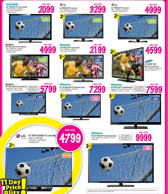 Game Stores has some great deals on T.V's the week! Check