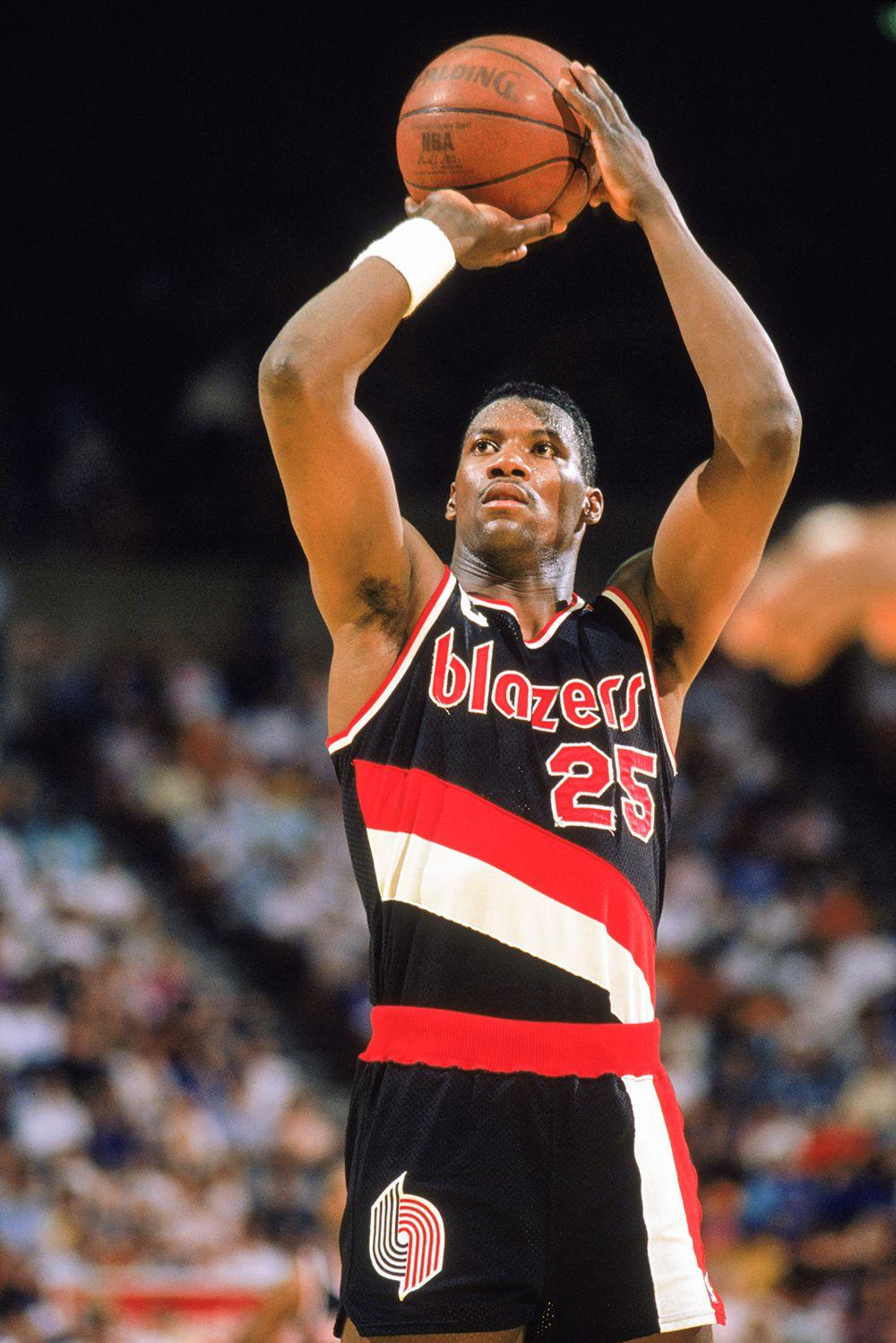 3c4702d41 Jerome Kersey   All-time Portland Trail Blazers Basketball Legends
