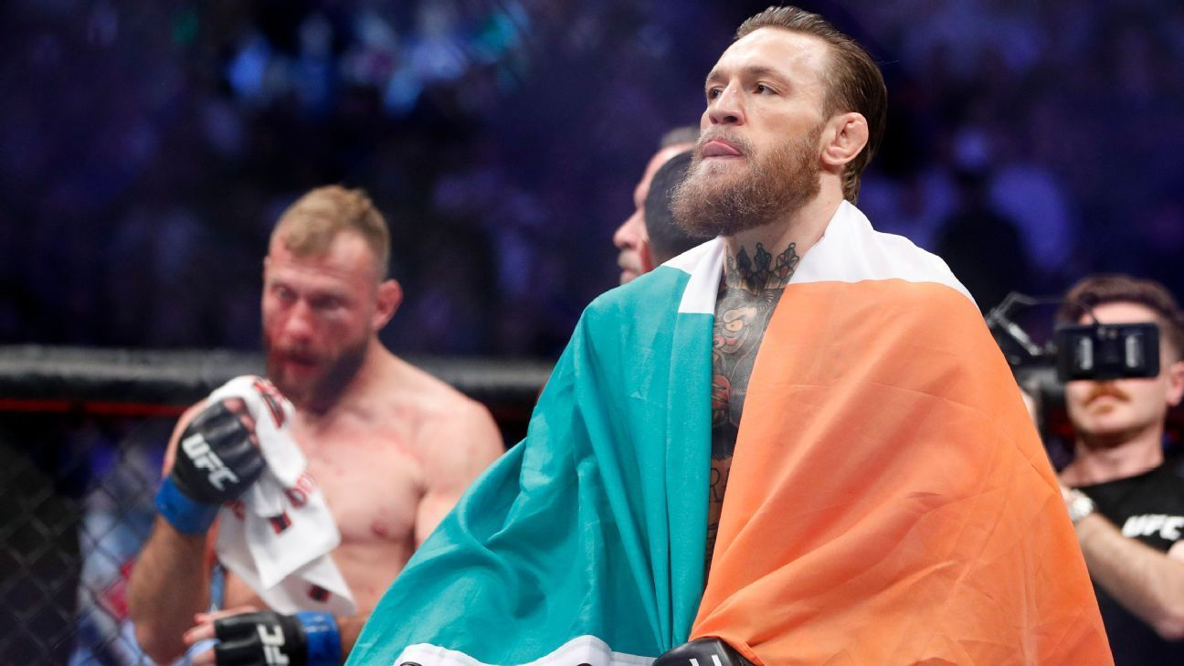 Just like that conor mcgregor is back in control conor