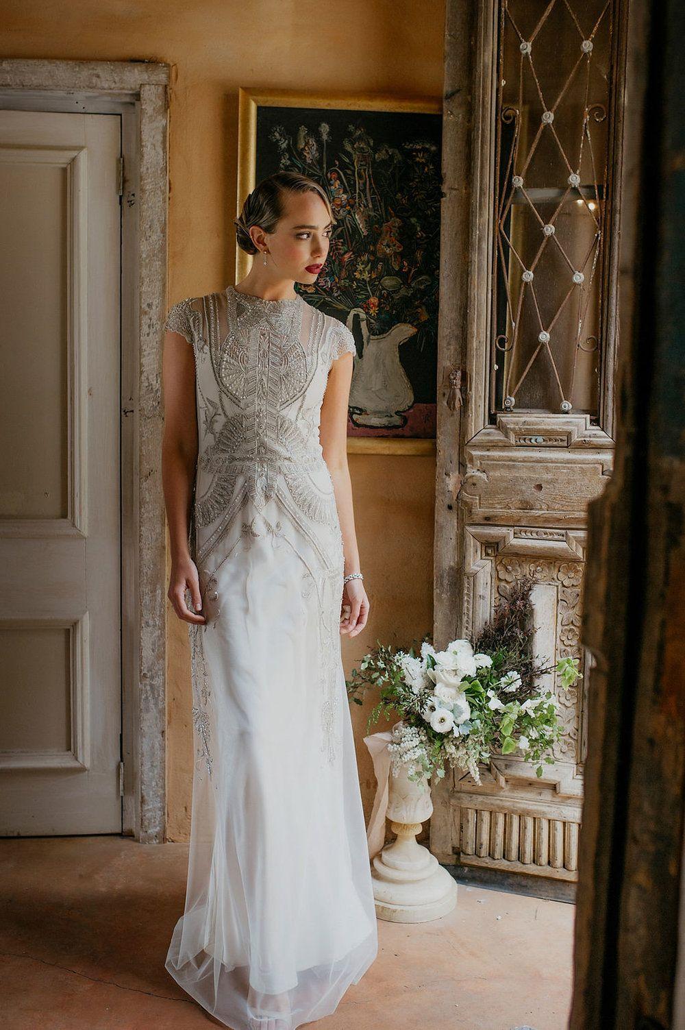 Art Deco Designer wedding dresses