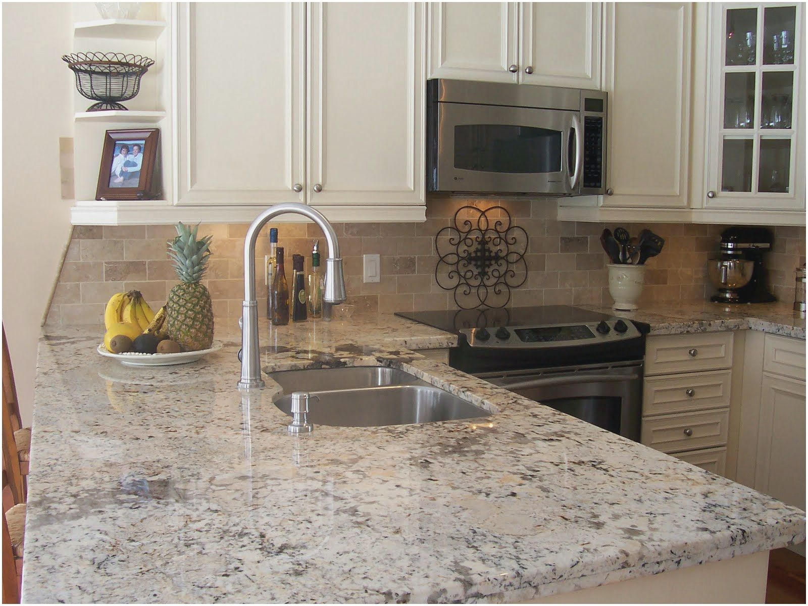 15 Best Of White Kitchens With Granite From Granite Kitchen Countertops In This Website We Inexpensive Kitchen Remodel Kitchen Remodel Kitchen Remodel Layout