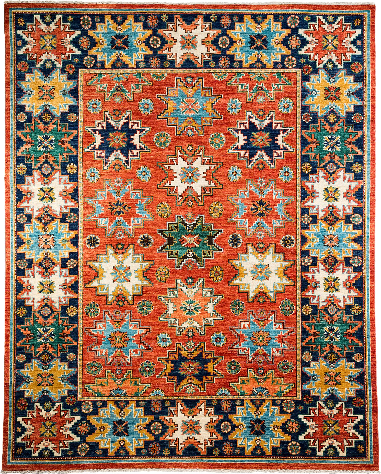 Oneofakind ziegler handknotted red area rug products
