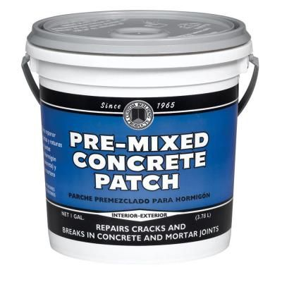 Phenopatch 1 Gal Gray Pre Mixed Concrete Patch 34617 At The Home Depot With Images Mix Concrete Concrete Repair Drywall Hole