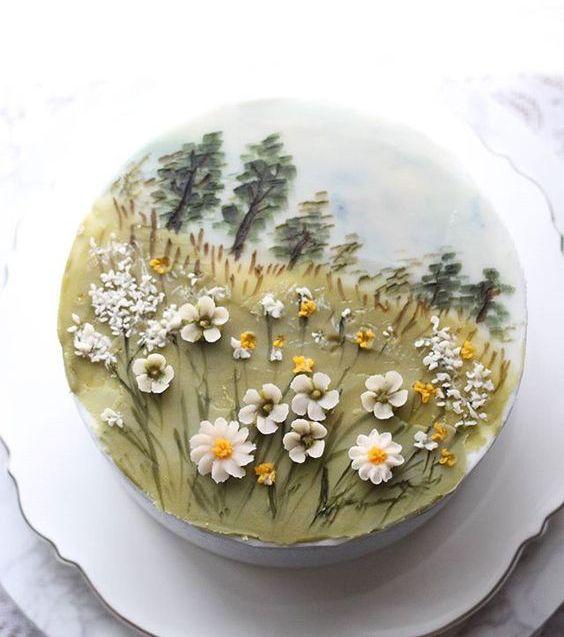 Photo of Gâteaux fleuris : les 50 plus belles créations trouvées sur Pinterest