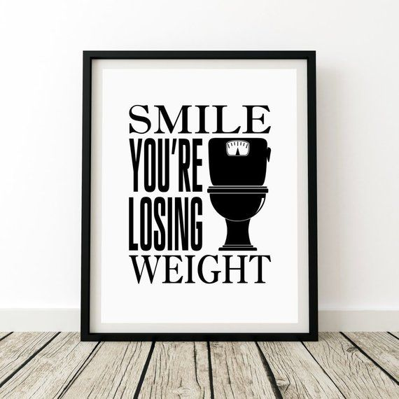 Photo of Bathroom Wall Art, Funny Bathroom Print, Bathroom Humor, Funny Bathroom Art, Dorm Decor, Bathroom Pr