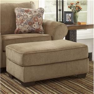 Great Ashley Furniture Galand   Umber Rectangular Ottoman   Turk Furniture    Ottoman Naperville
