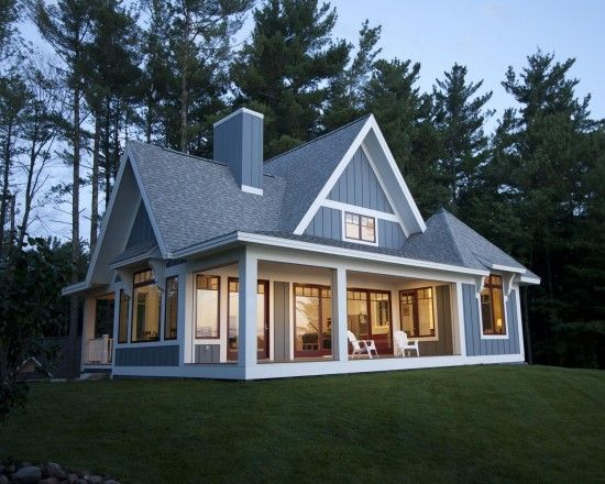 Cottage Exterior Design, Pictures, Remodel, Decor And