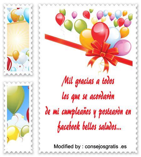 tarjetas de agradecimiento de cumpleanos koni polycode co
