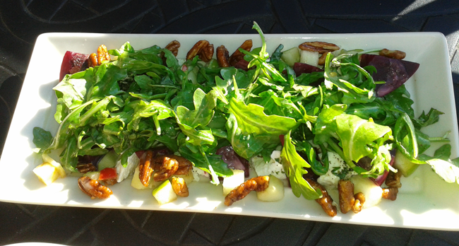 Beet Salad & Goat Cheese, Cheesecake Factory Light Menu Option, #delicious