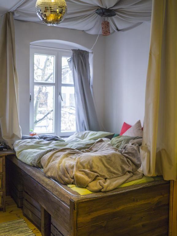 Stylisches WG-Zimmer mit Himmelbett. #WG #Zimmer #Schlafzimmer ...