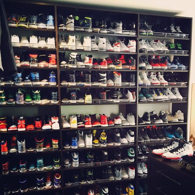 Ray Allen Spent Easter Weekend Organizing His Massive Air Jordan Collection