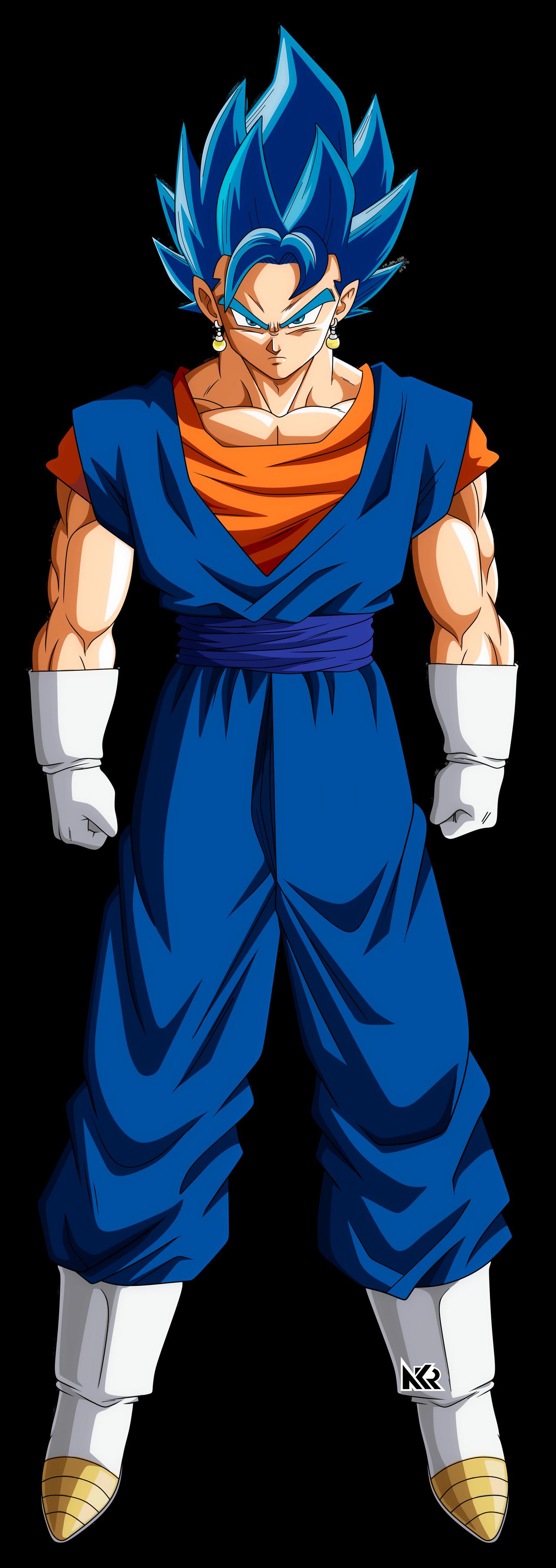 Vegetto Ssj Blue By Naironkr On Deviantart Dragon Ball Image Anime Dragon Ball Super Dragon Ball Artwork