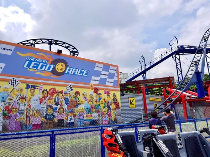 Great Lego Race brings VR to a real-life roller coaster ...
