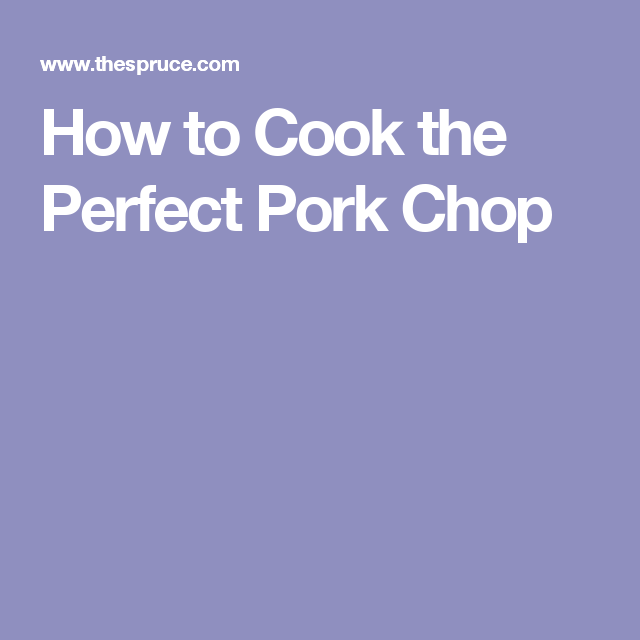 how to cook the perfect pork steak