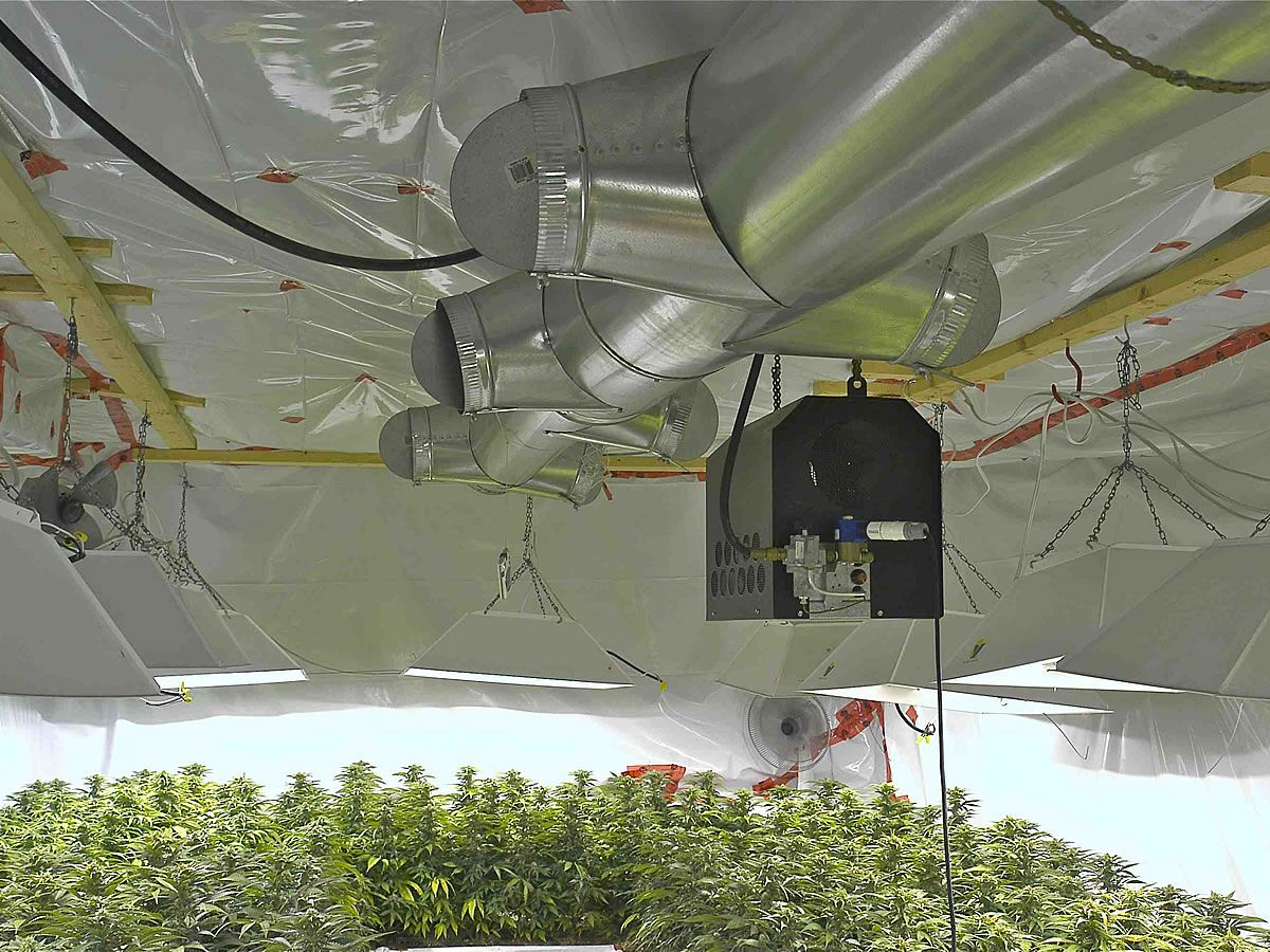 Marijuana grow room meters monitors controllers Grow room designs