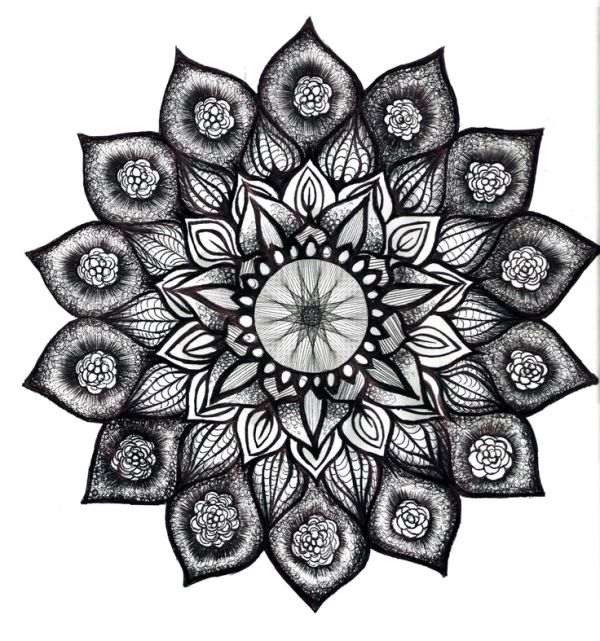 Mandala Cover Up Tattoo The Sanskrit Meaning Of Mandala Is Circle The Circle Is A Symbol Of Perfection Eternity Unity And Completen Hinh Xăm Tatoo Xăm