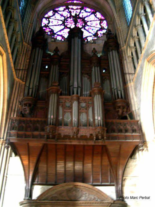 orgue cathedrale de reims orgues fran ais pinterest reims cath drale et instruments. Black Bedroom Furniture Sets. Home Design Ideas