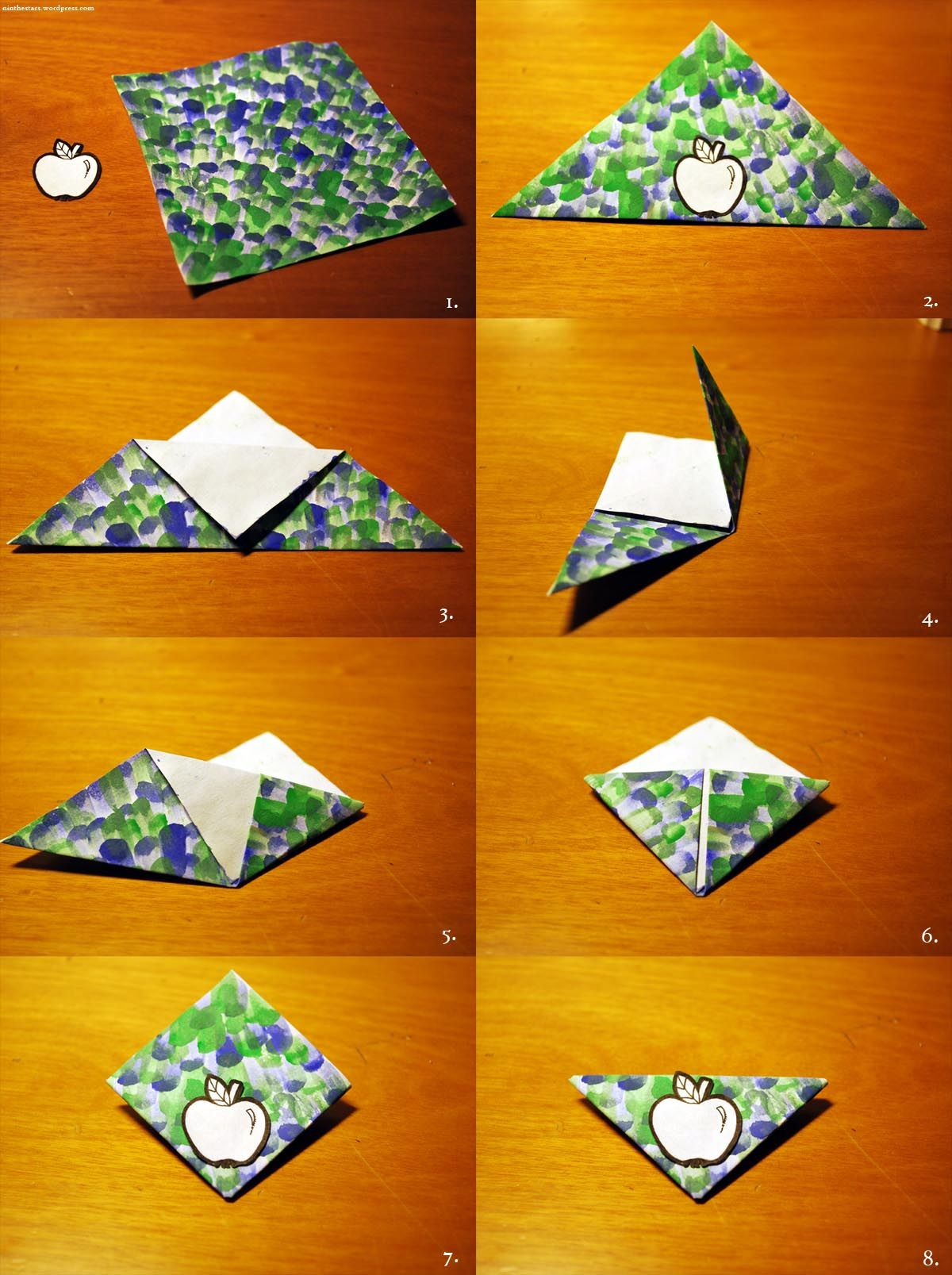 origami bookmark origami tutoriais pinterest