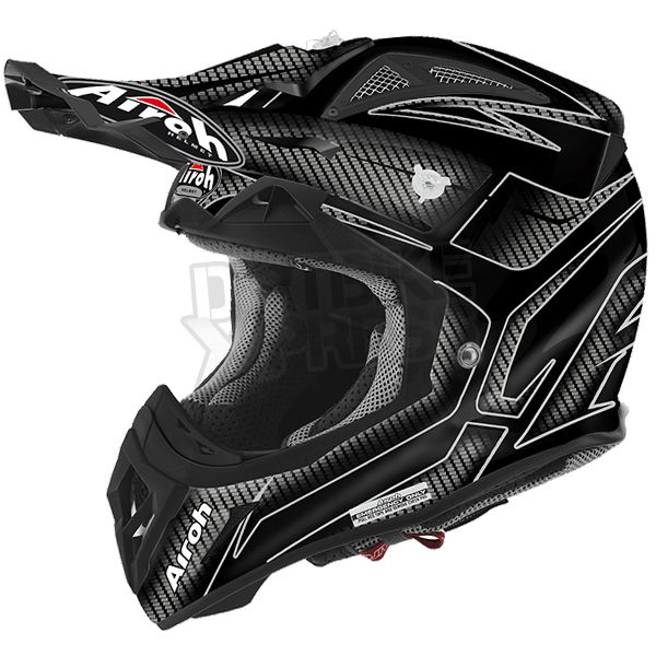 2016 Airoh Aviator 2.2 Helmet Ripple Black Gloss