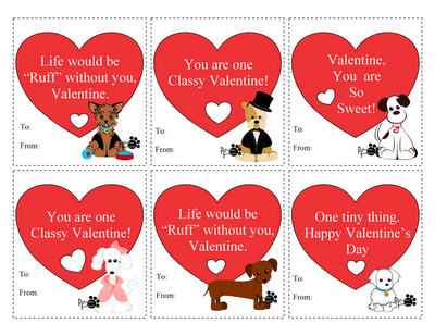 Tricia Rennea Illustrator We Heart Peticular Fashions Puppy Valentines Valentine Valentines Printables