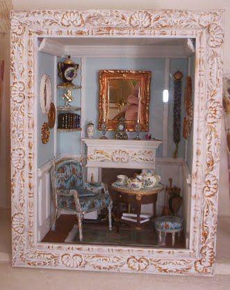a la hora del t mooghis cath display miniatura maison de poup e pinterest miniature. Black Bedroom Furniture Sets. Home Design Ideas