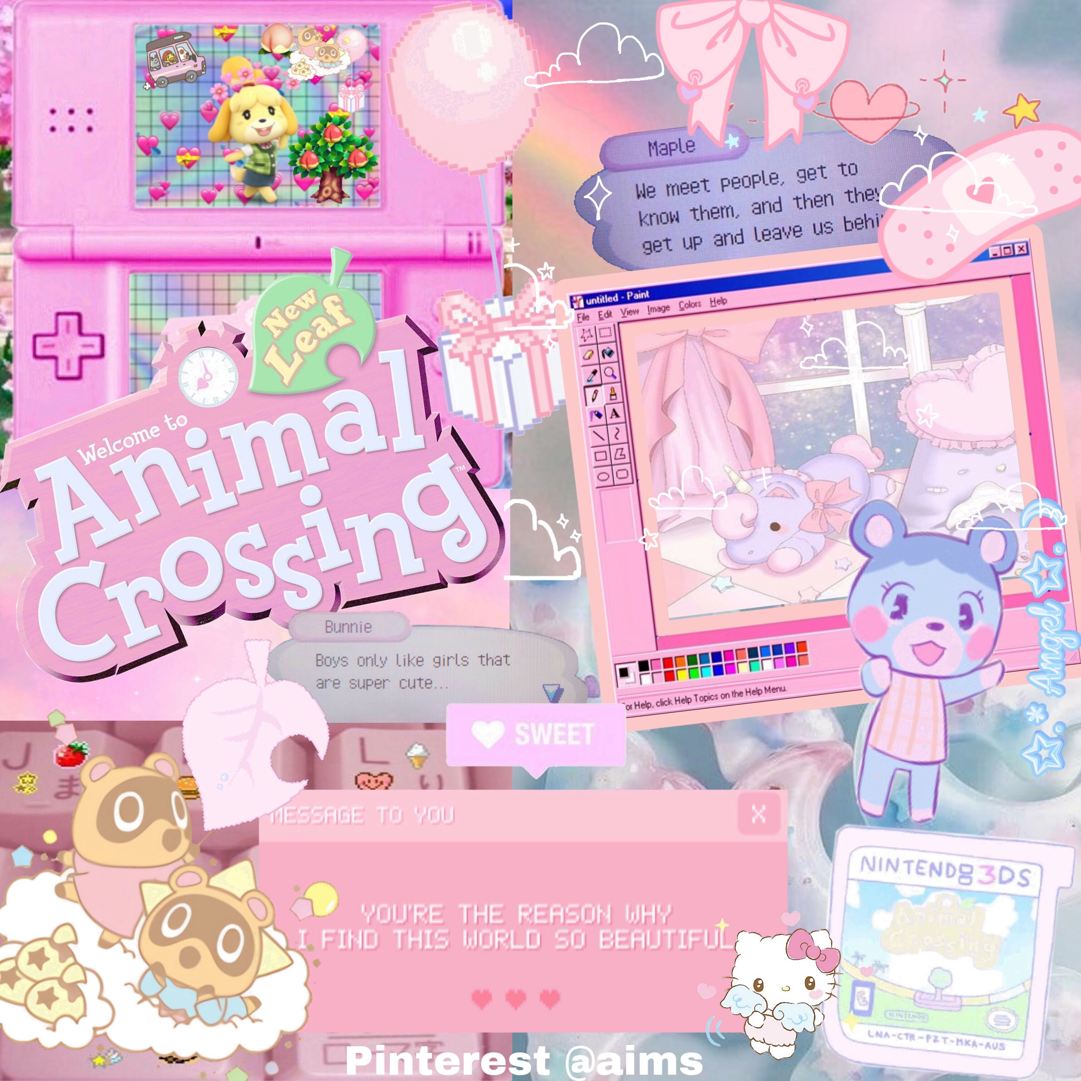 Pin By Mia On Flowers Animal Crossing Animal Crossing Pocket Camp Pink