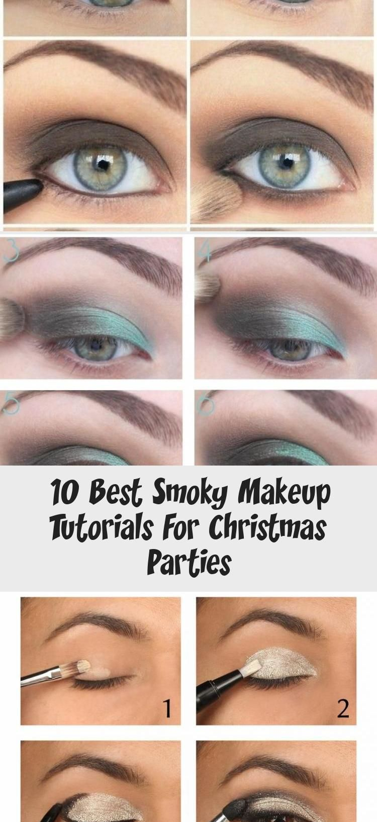 Photo of 10 Best Smoky Makeup Tutorials For Christmas Parties