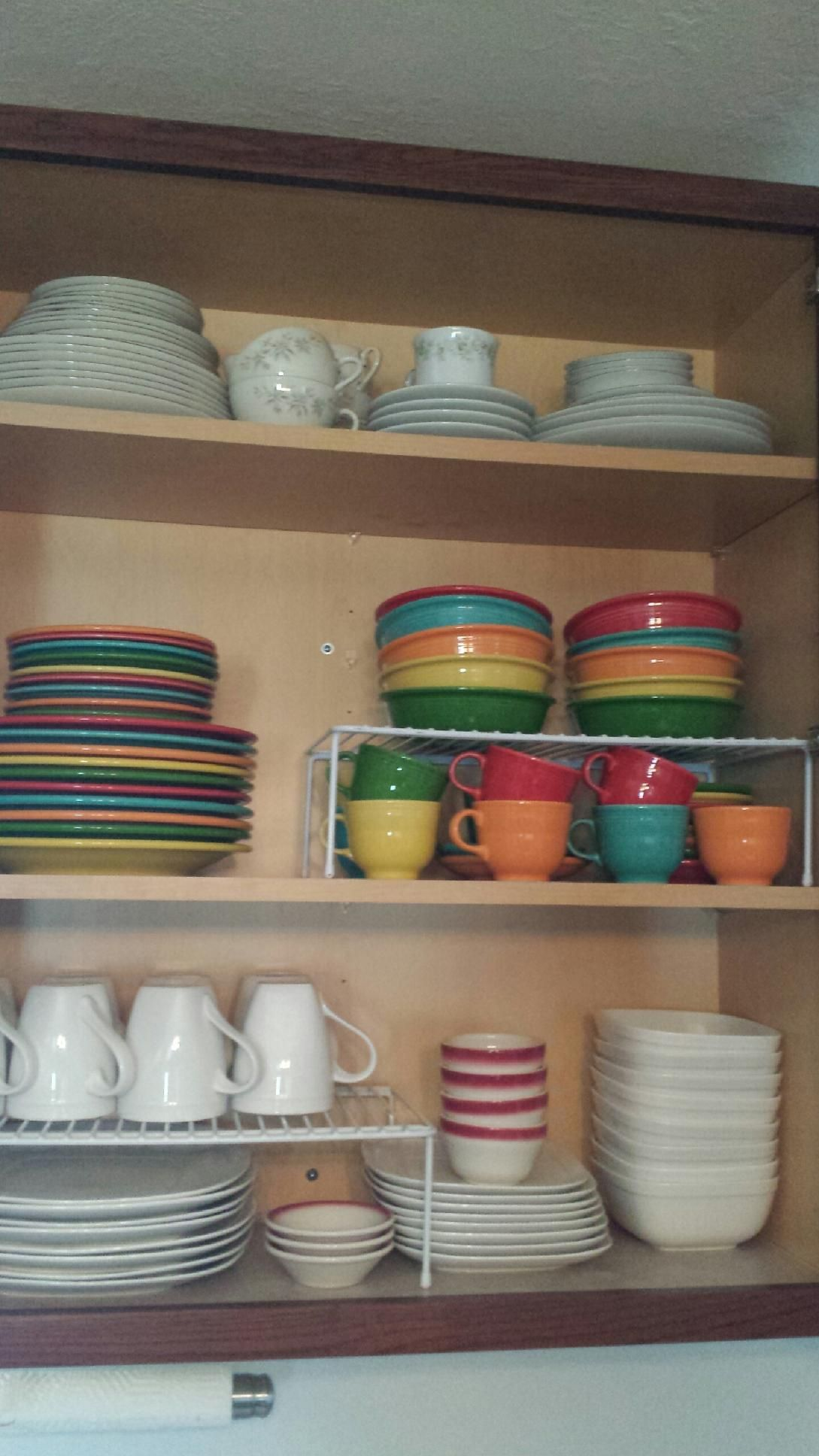 beautifully organized dishes cabinet organizing in 2019 kitchen organization kitchen on kitchen organization dishes id=82511