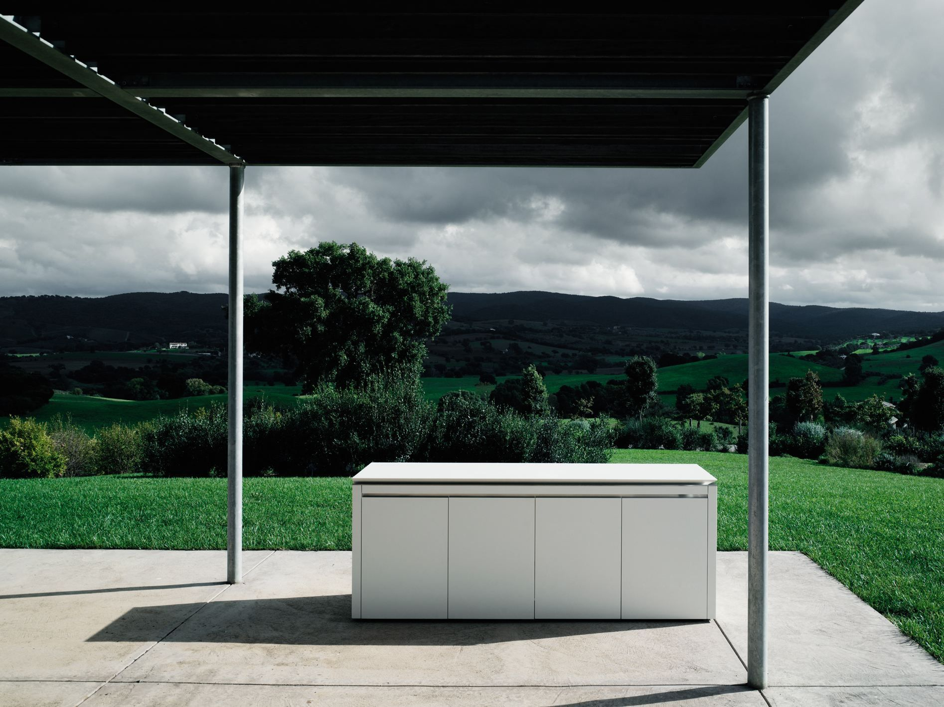 corian® outdoor kitchen k2 outdoor by boffi | design norbert, Innenarchitektur ideen