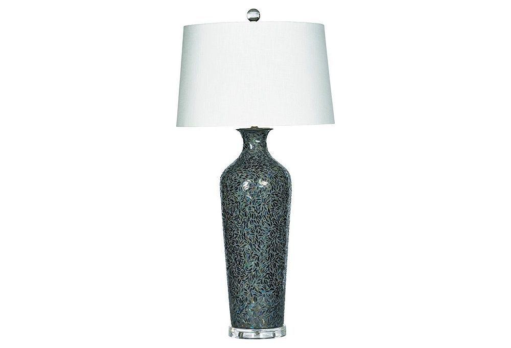Terrific Mara Table Lamp Mosaic One Kings Lane Living Room Interior Design Ideas Clesiryabchikinfo