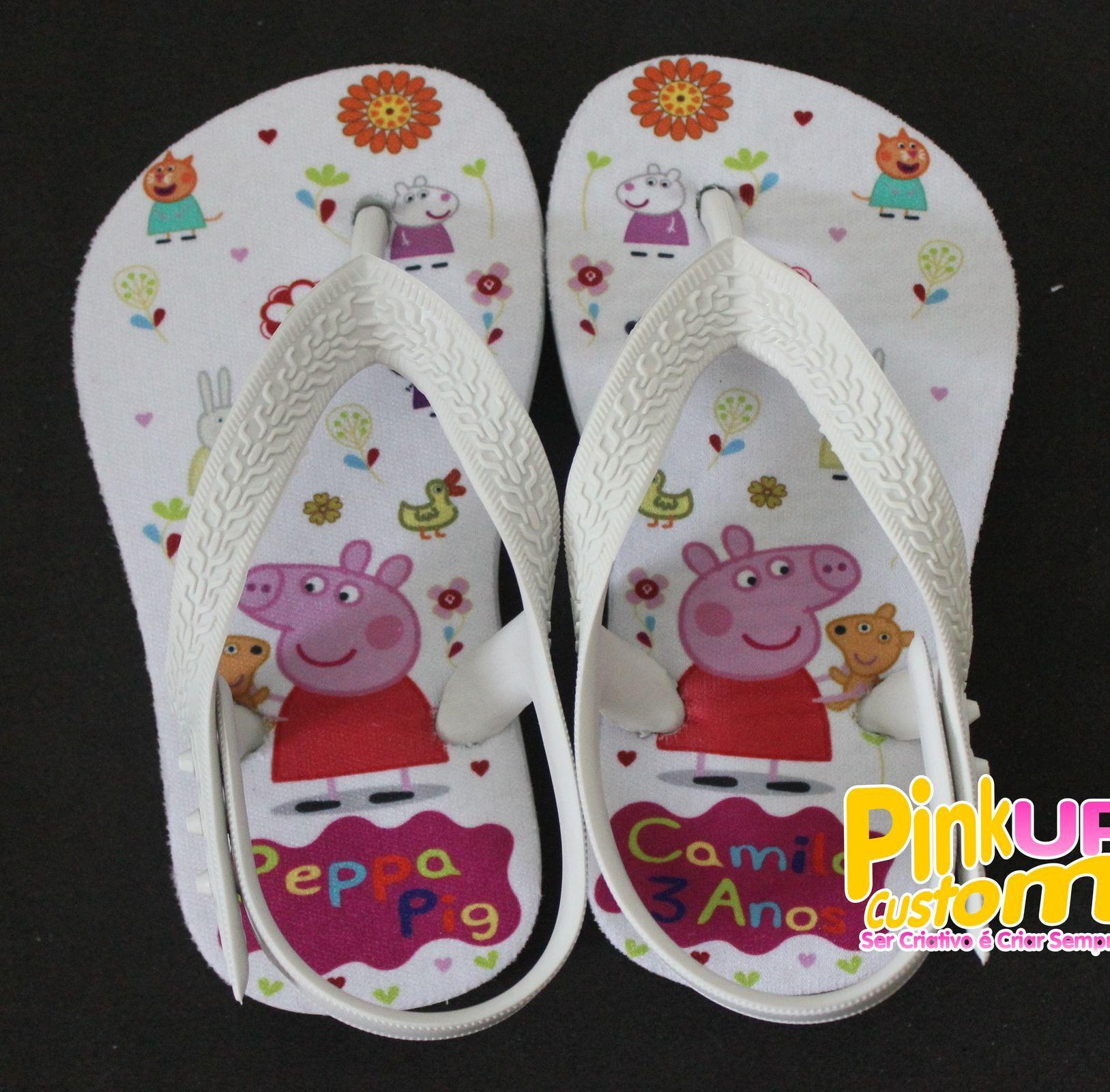 Chinelo Infantil com proteção, Peppa Pig  2