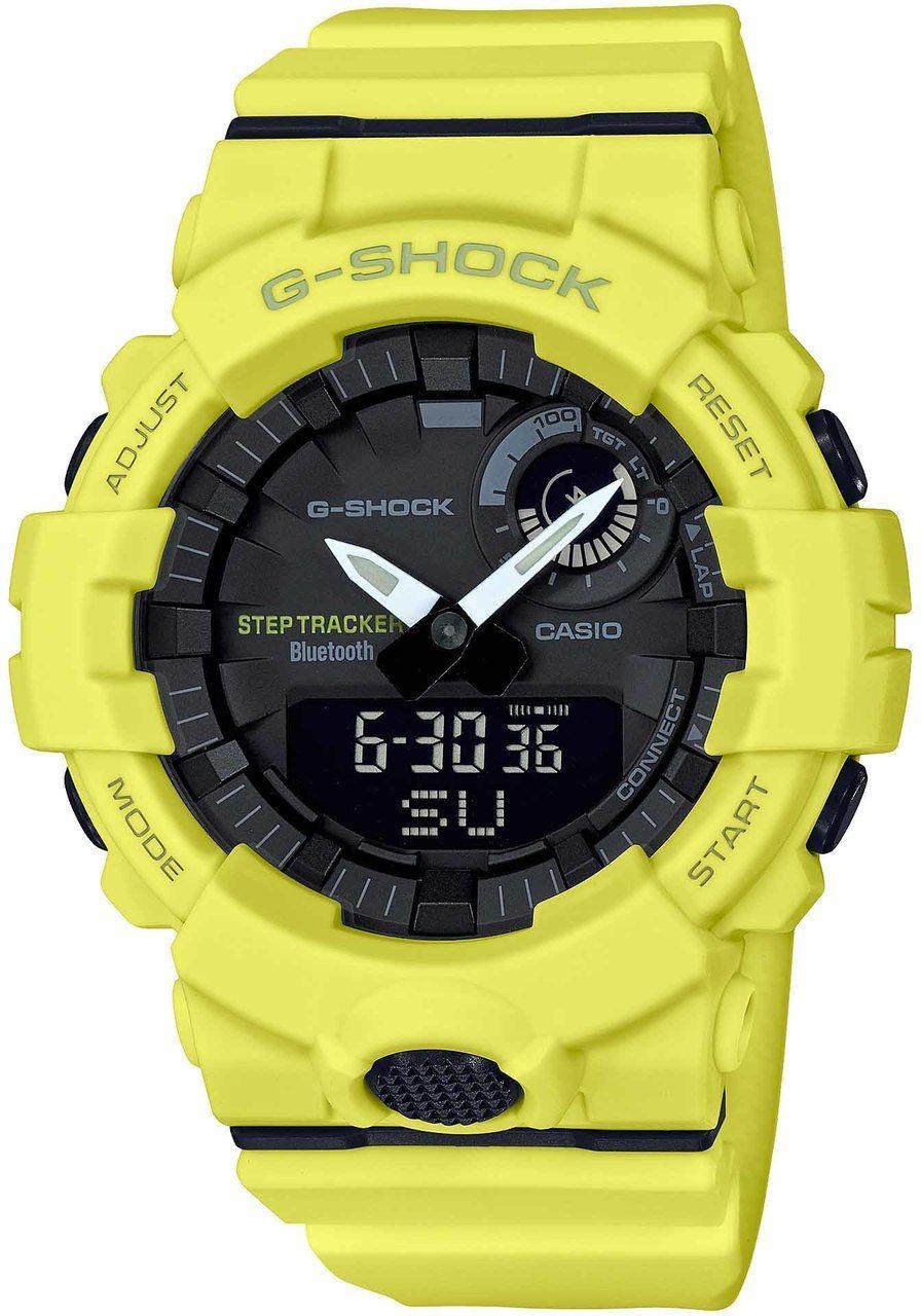 Step Tracker Gba800 Yellow G Training Shock Timer Bluetooth vm0O8nwN