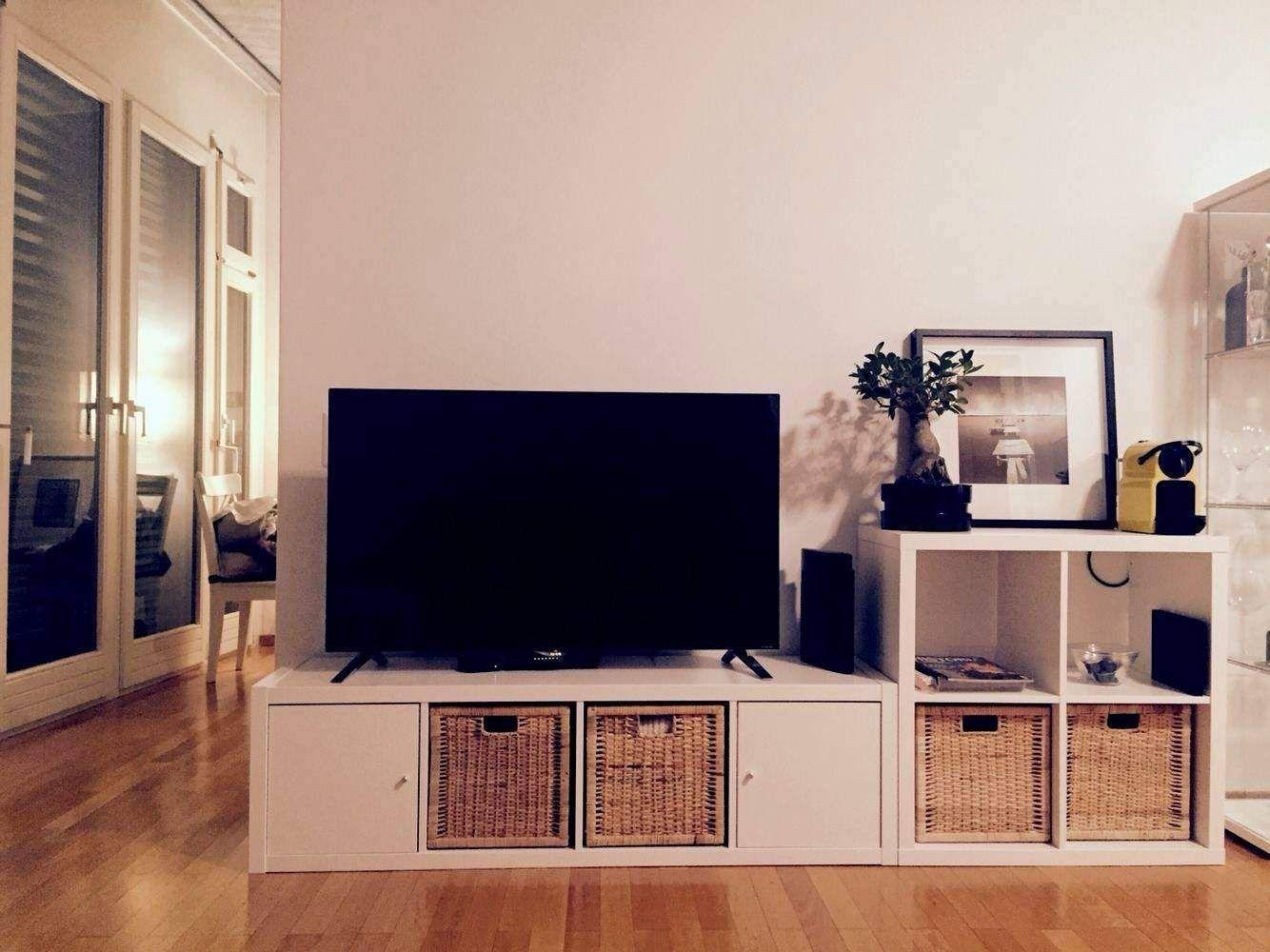 Kallax Regal Ideen Wohnzimmer in 8  Flat screen, Flatscreen tv