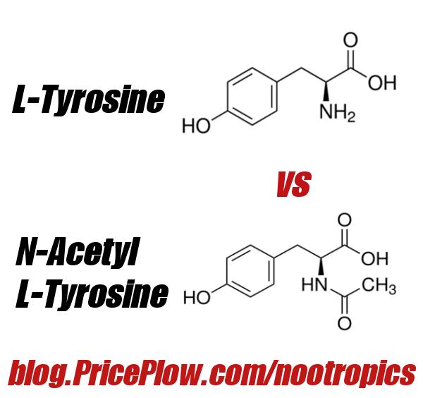 L-Tyrosine vs  N-Acetyl L-Tyrosine: A Tale of Two Tyrosines | Brain