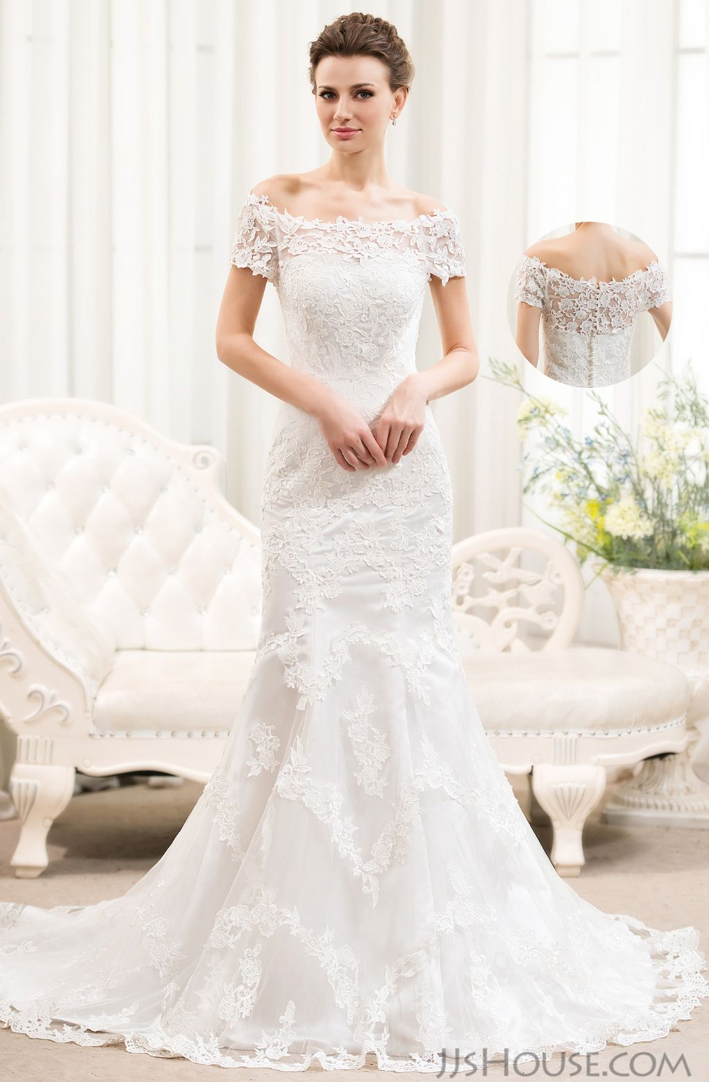 Trust me you will love the wedding dress from the first sight