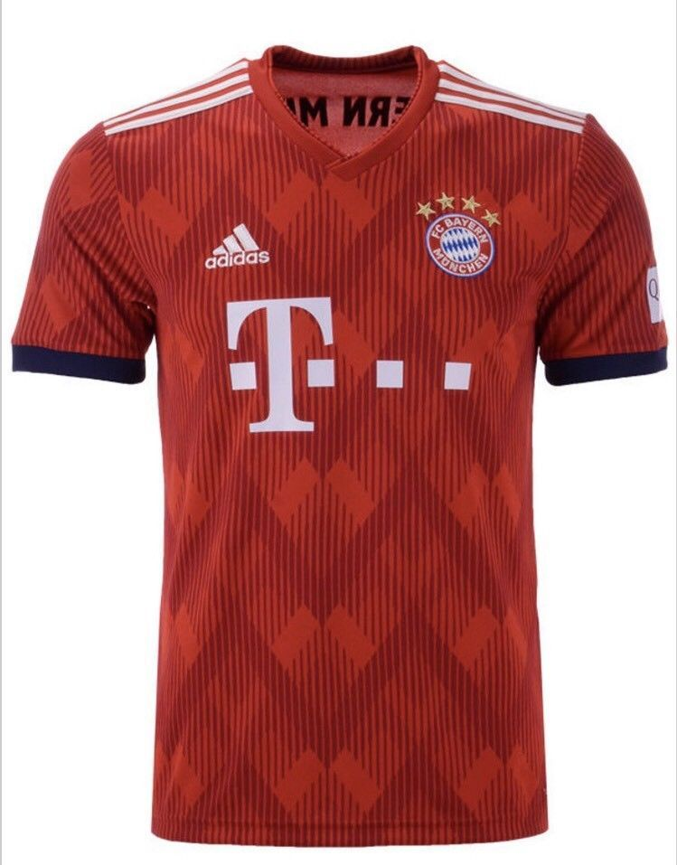 42540fa24 Adidas Mens Bayern Munich Home Jersey 2018 World Cup Medium BNWT 100%  Authentic Discount Price