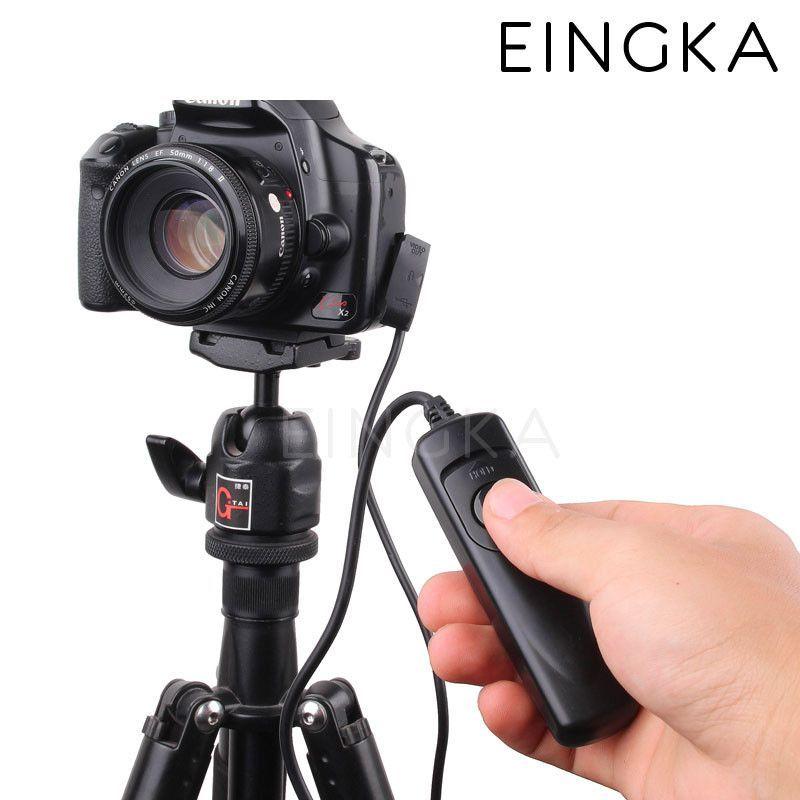 Camera Remote Control Shutter Release Switch Rs 60 E3 For Canon 60d 70d 550d 600d 700d 750d G16 G1x Mark Ii Sx50 Sx60 Hs Remote Control Remote Camera