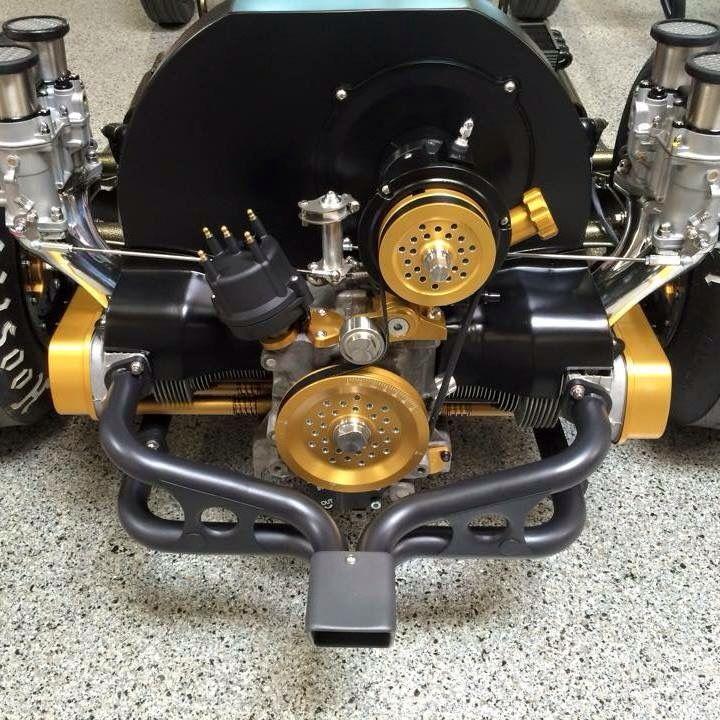 Porsche 911 Engine Vw Beetle: Nice Exhaust