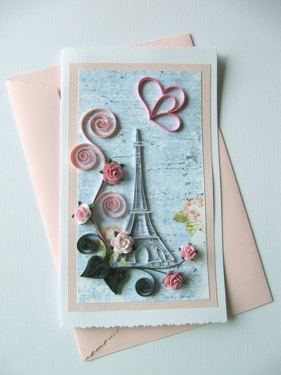Ooak paper greeting card for all occasion birthday card ooak paper greeting card for all occasion birthday card valentines day card mothers day card love card pinterest quilling greeting cards birthday m4hsunfo