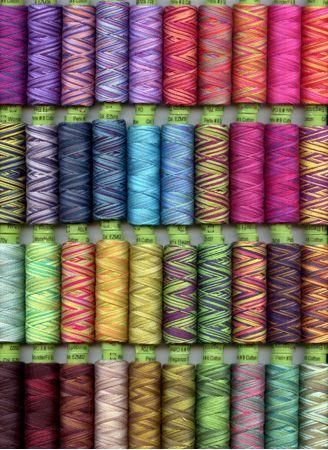 Cotton Embroidery Thread 2 Ply Twisted Crochet Cotton Yarn Quilt Embroidery Thread Thread for Borders Colorful Crafting Project Thread