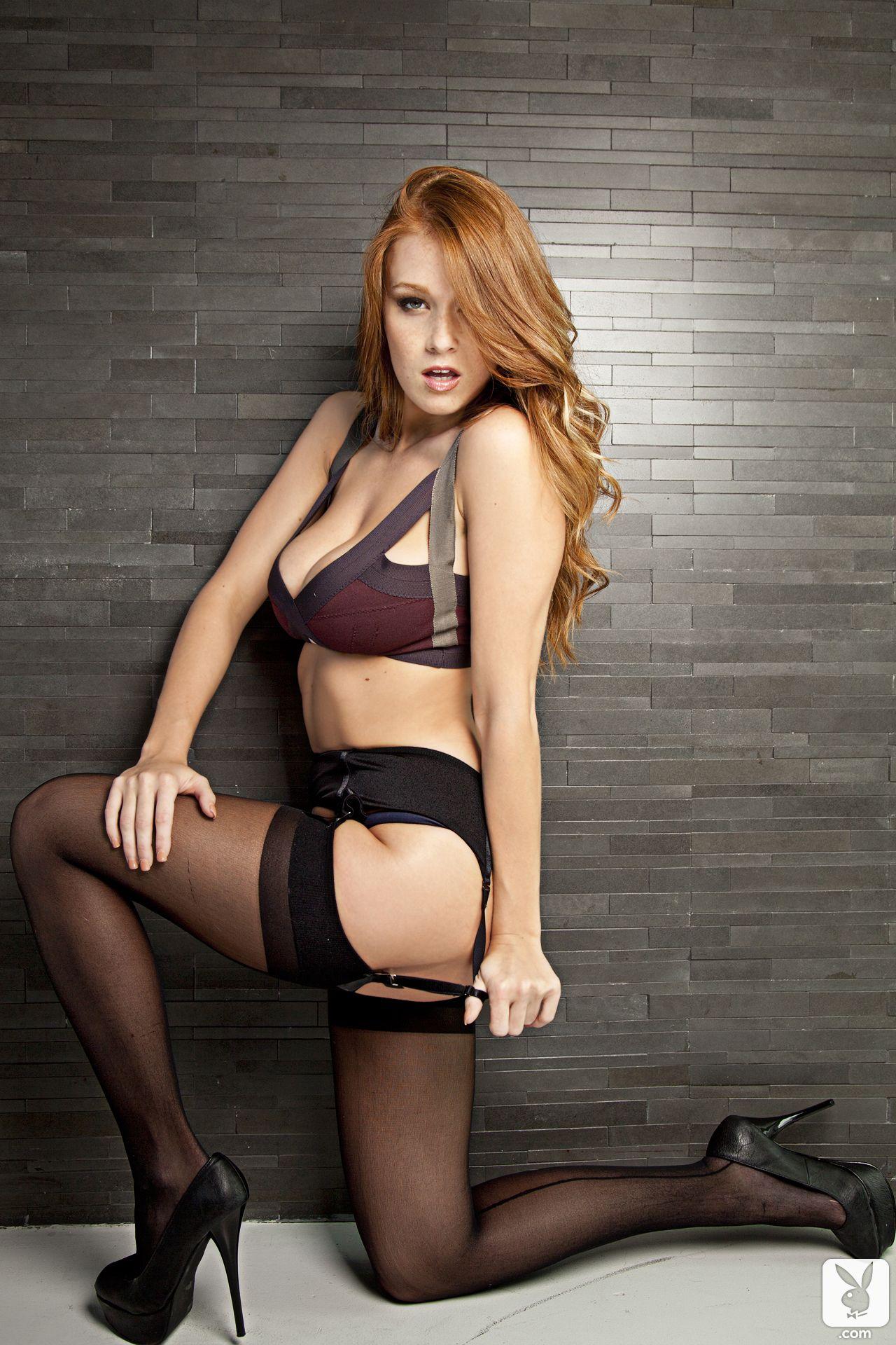 Severance free in photo redhead stocking