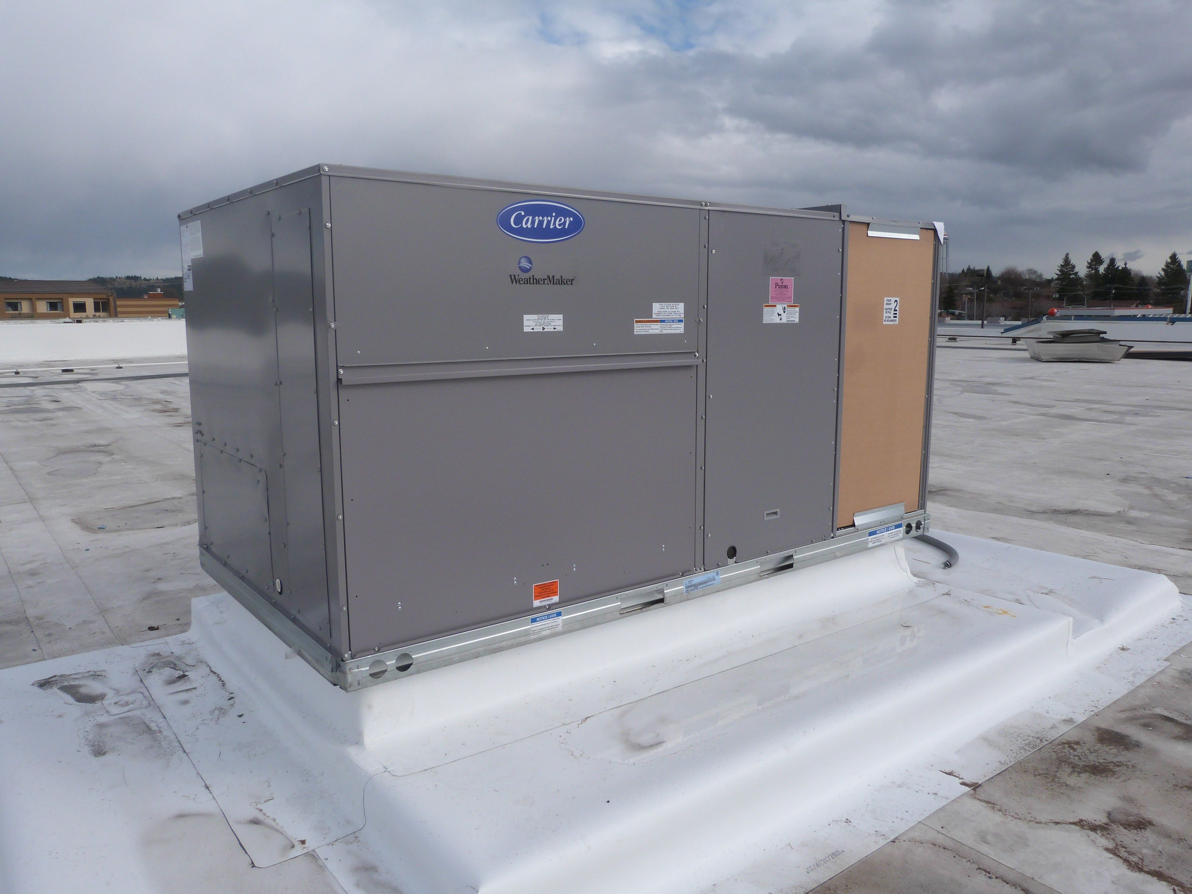 Commercial Rooftop Unit Installation Heating Air Conditioning Hvac Services Commercial Hvac Heating And Air Conditioning