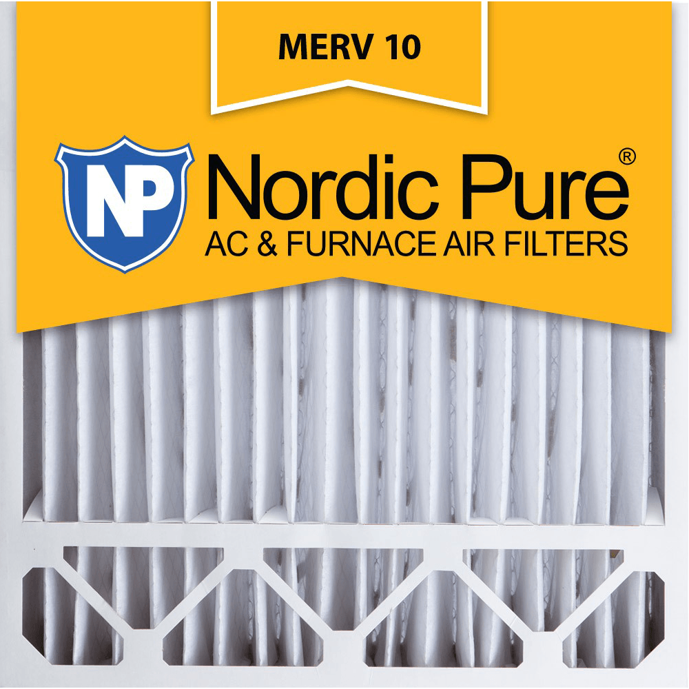 Buy Cheap Nordic Pure MERV 10 Pleated Furnace Filter