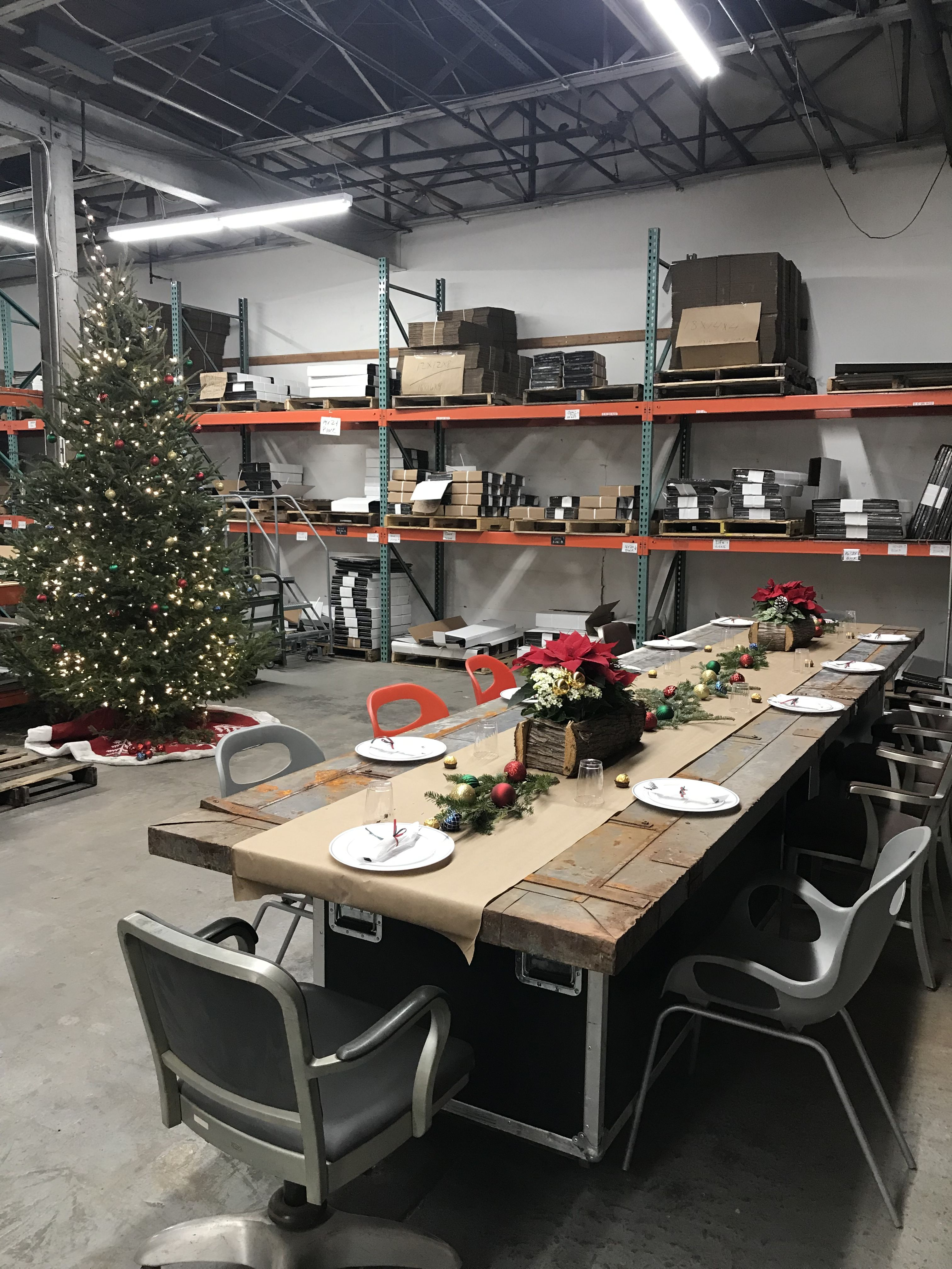 Warehouse Party Home Decor Home Table