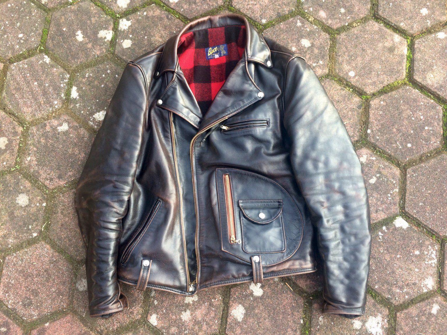 Diamond Clothing Buco J 21 Shinki Horsehide Leather Jacket Motorcycle Jacket Mens Jackets [ 1152 x 1536 Pixel ]